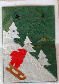 Mulberry Paper Christmas Card-4
