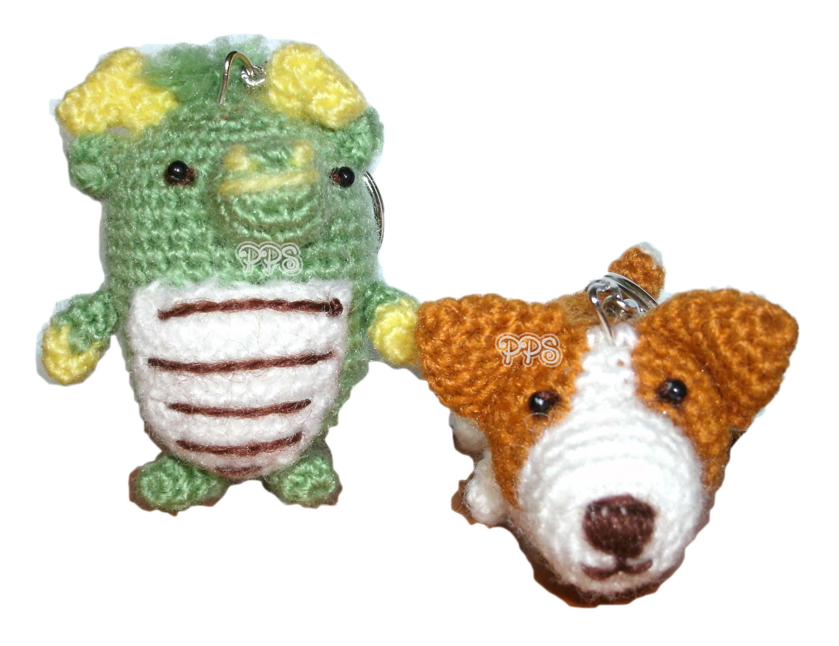 Crochet Doll Keyring--1
