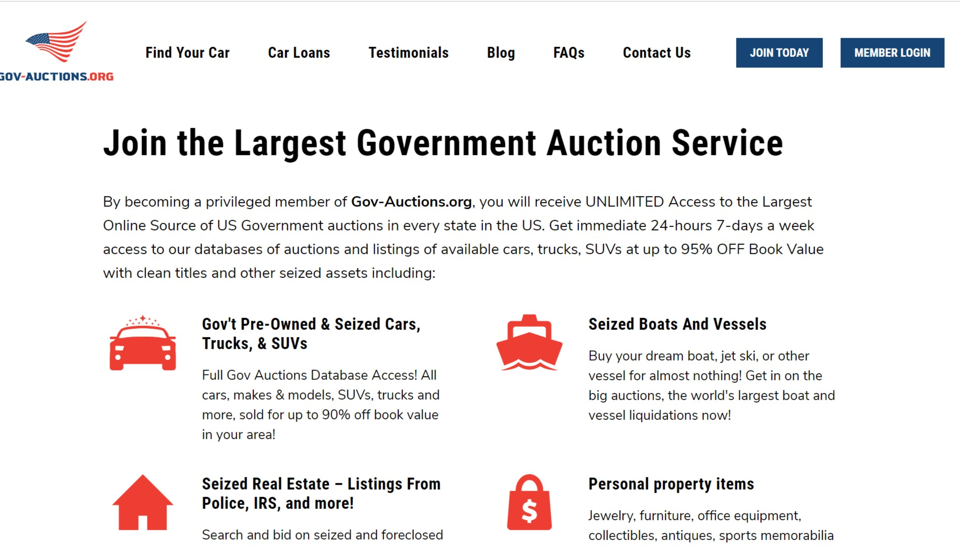 Gov-auctions.org - #1 Government & Seized Auto Auctions