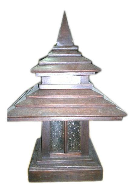 Teak Lamps 2360-2