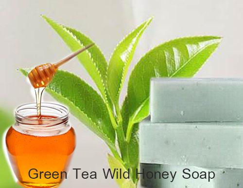 Green-tea-honey soap