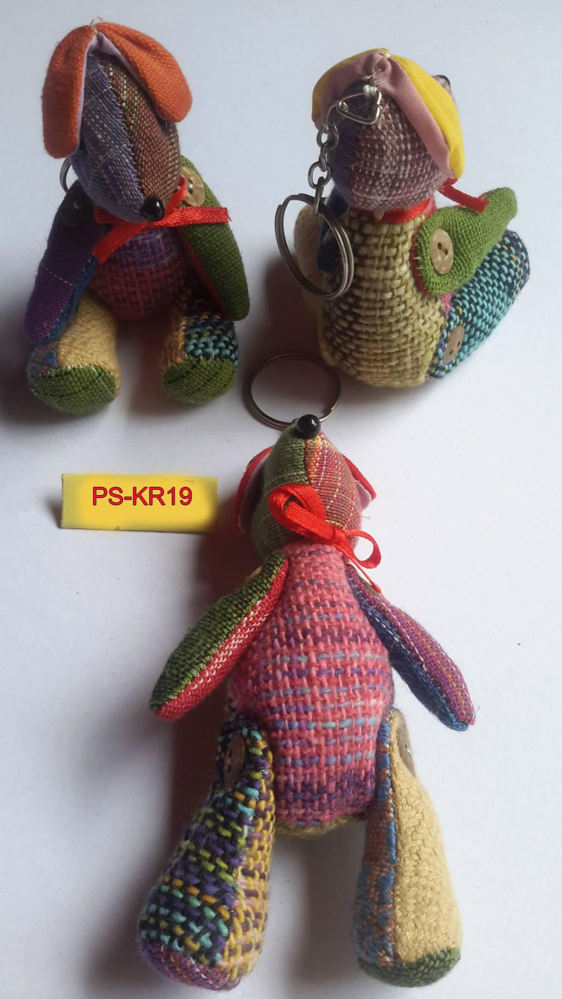 Cotton Dog keyring-PS-KRA-19