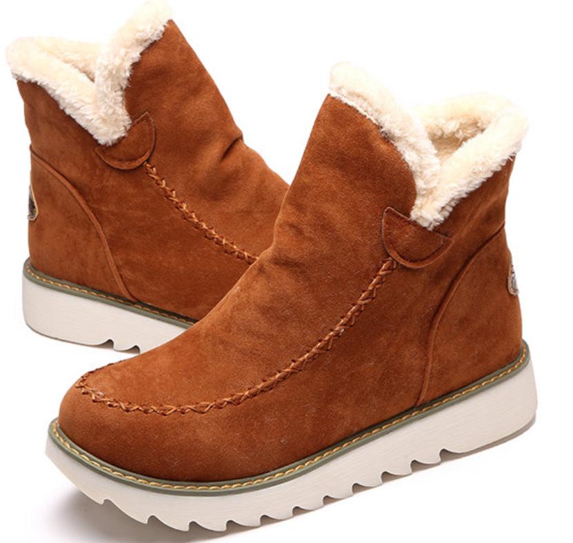 LOSTISY Big Size Pure Color Warm Fur