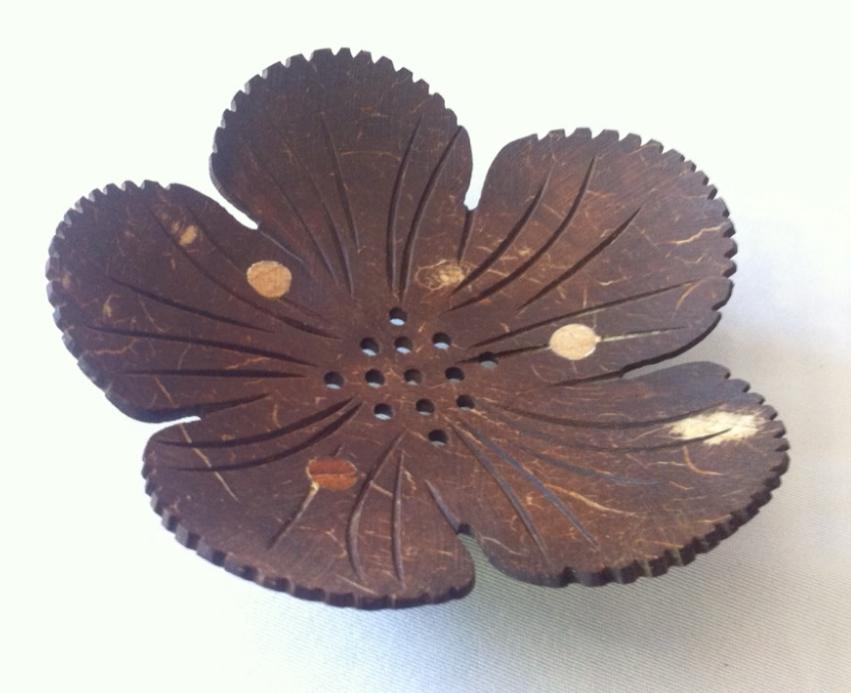 Coconut Shell Soap Tray-3