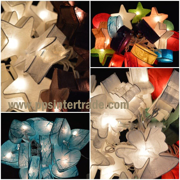 Paper mixed lighting