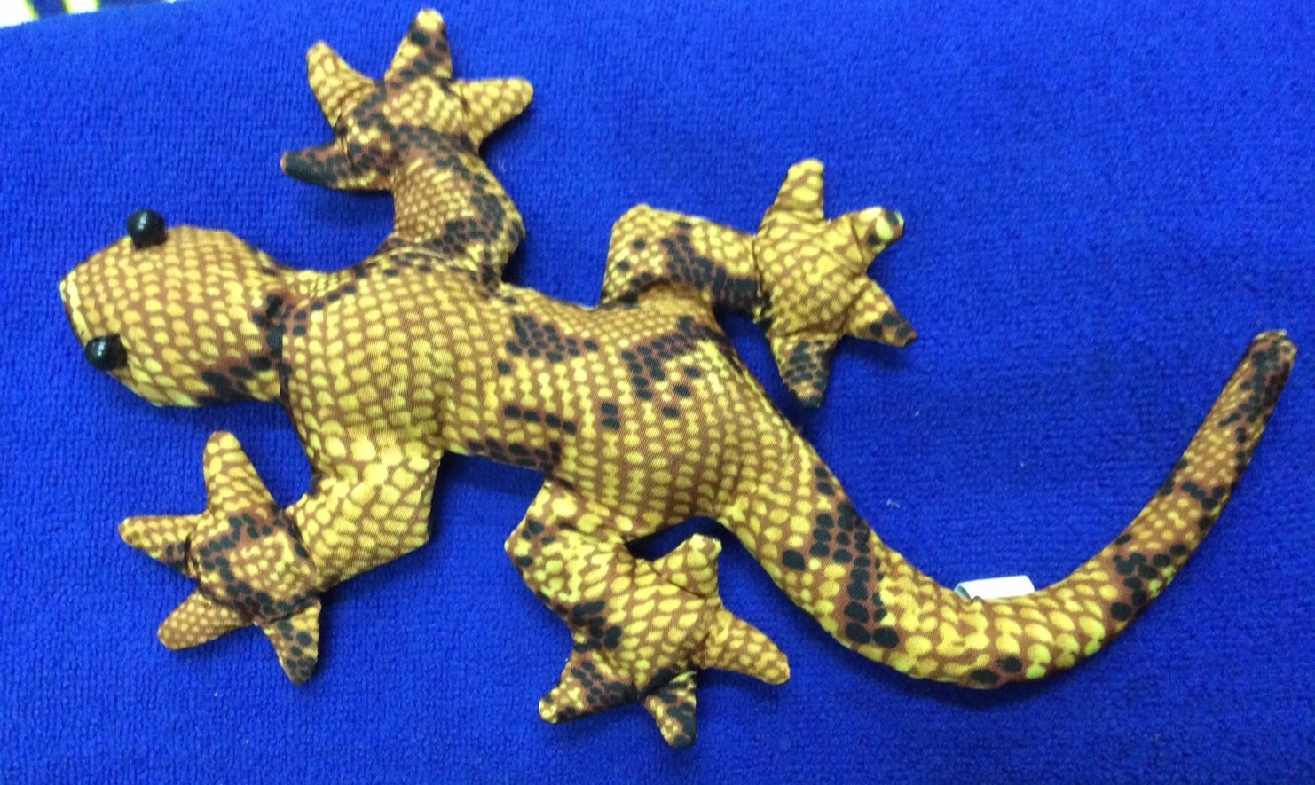 Fabric sand dolls-Gecko