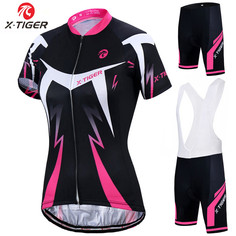Women's Cycling Jersey Summer Breathable Cycling MTB Bicycle Clothing Mountain Bike Clothes miti fabric custom cycling jersey