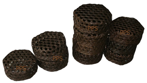 Bamboo container with lid PS-BB-32