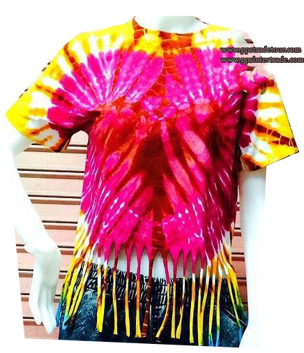 tiedyed shirt