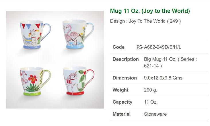 Ceramic mug 11 oz.-Joy to the world.jpg