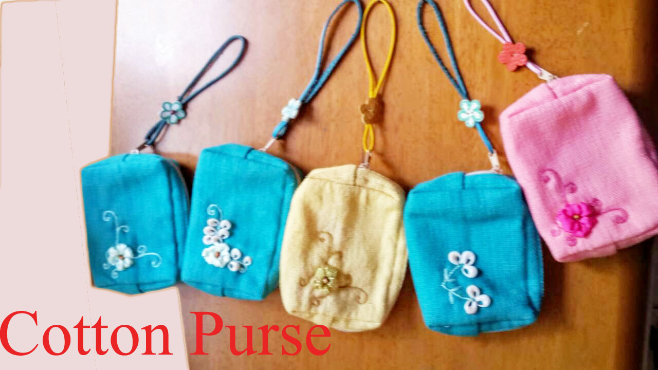 cotton purse