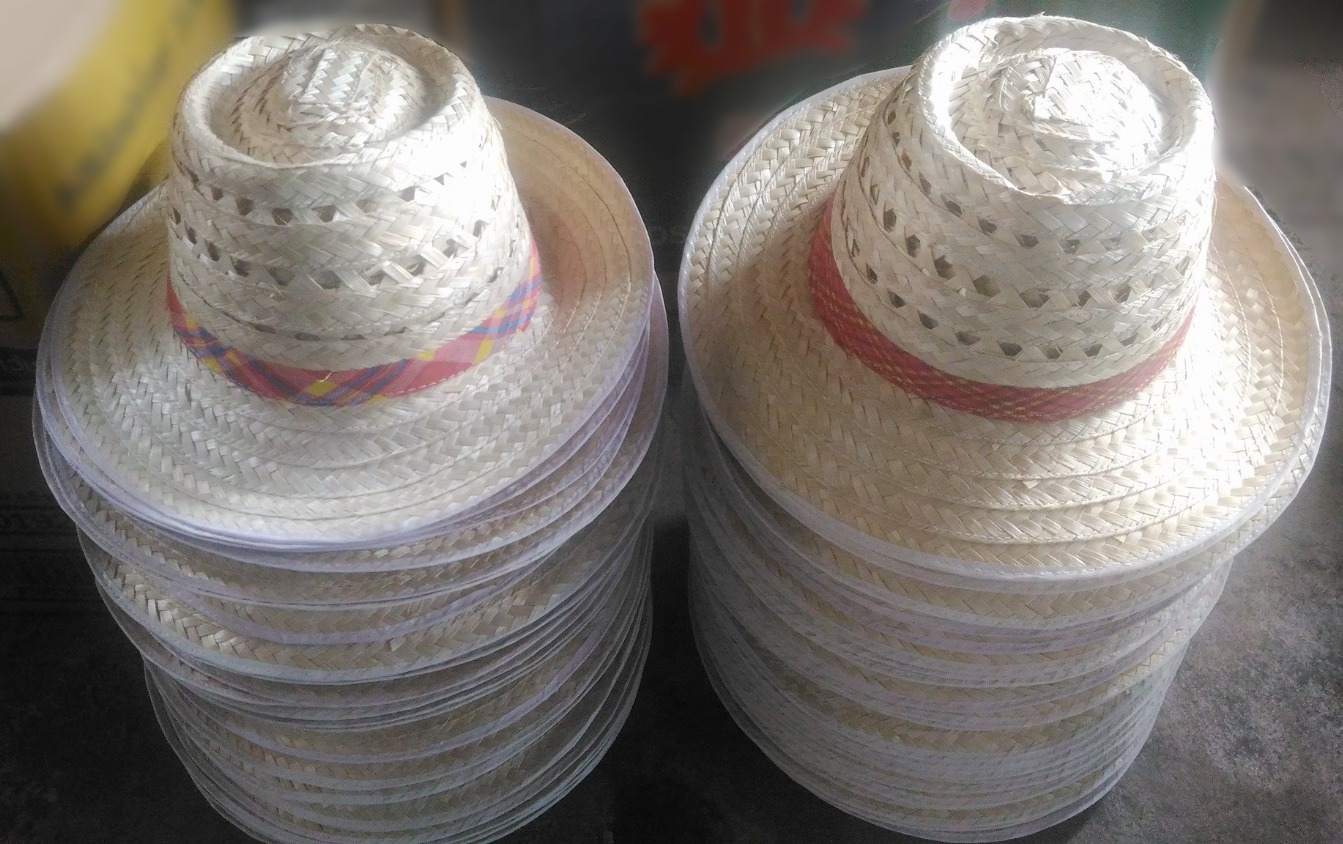 PS- Bamboo Woven Hat