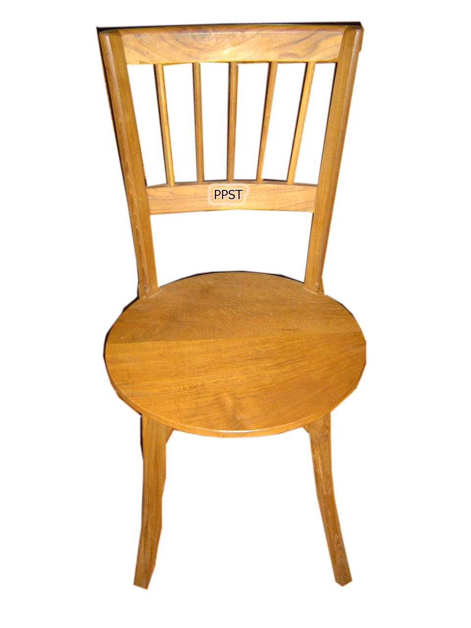 Teak stool-sn007