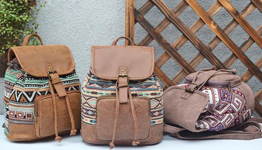 Tribal Pu Backpack-6
