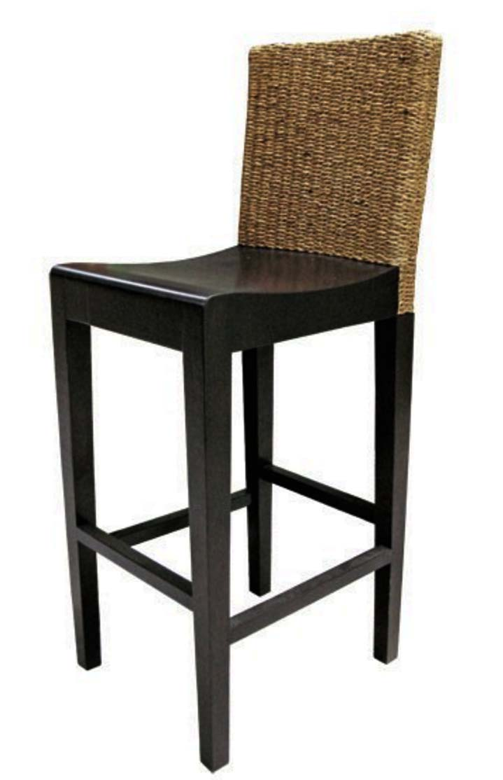 PS-Rattan Stool1- SL1