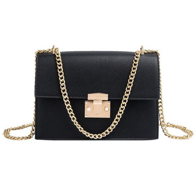 PU leather women chain strap mini purses and handbags luxury