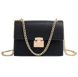 PU leather women chain strap mini purses and handbags luxury