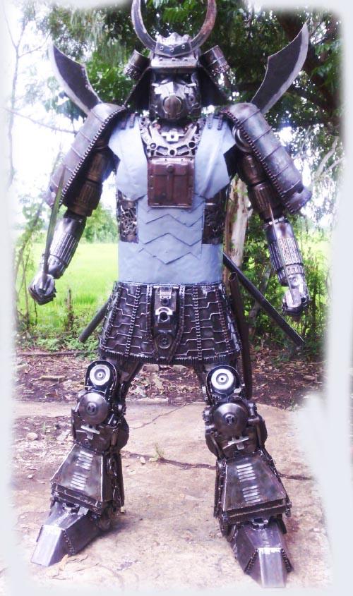 Recycle Metal Robot-39