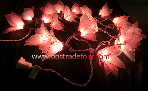 Nylon flower string lights-22