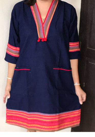 Cotton Dress-BNB-CMCD027