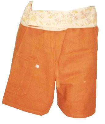 Short Cotton Trouser-OR17