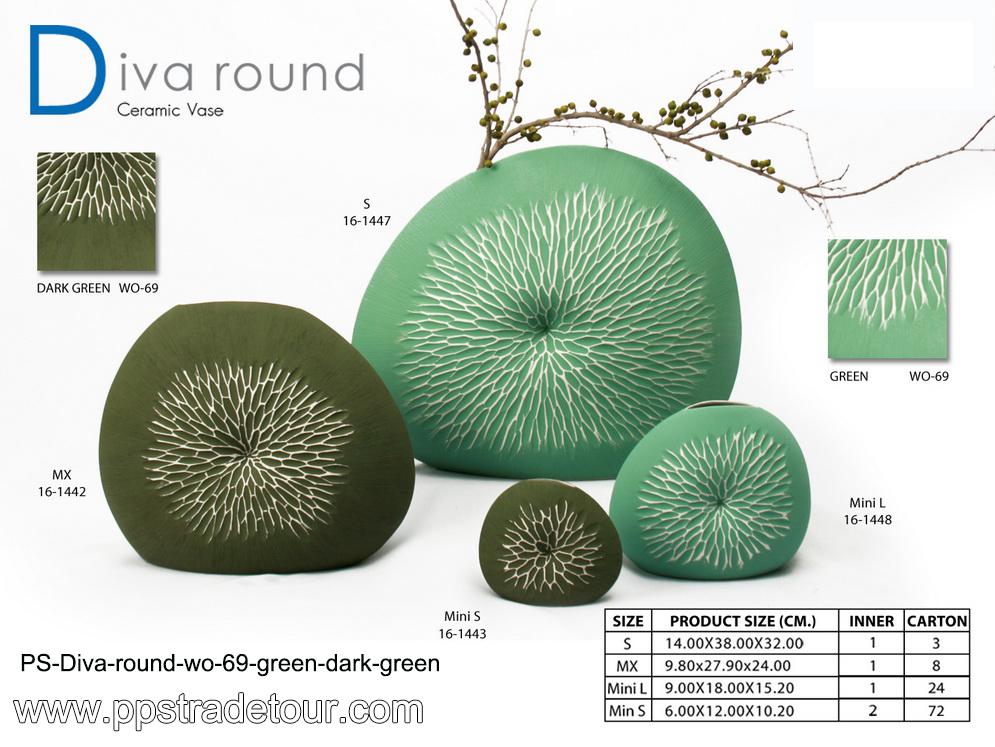 PSCV-Diva-Round_WO-69-Green-Dark-Green