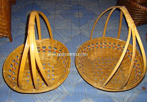 Bamboo fruit basket PS-BB-04