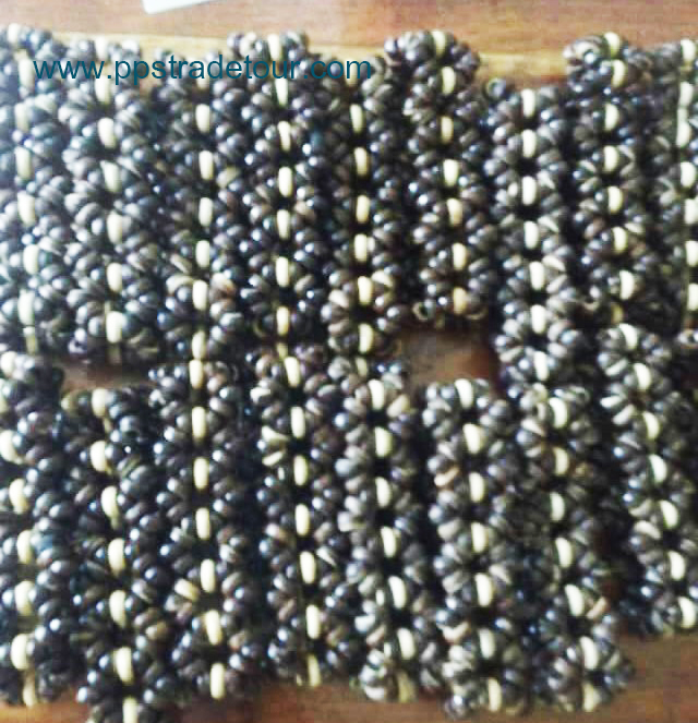 Coconut shell bead bracelet-4