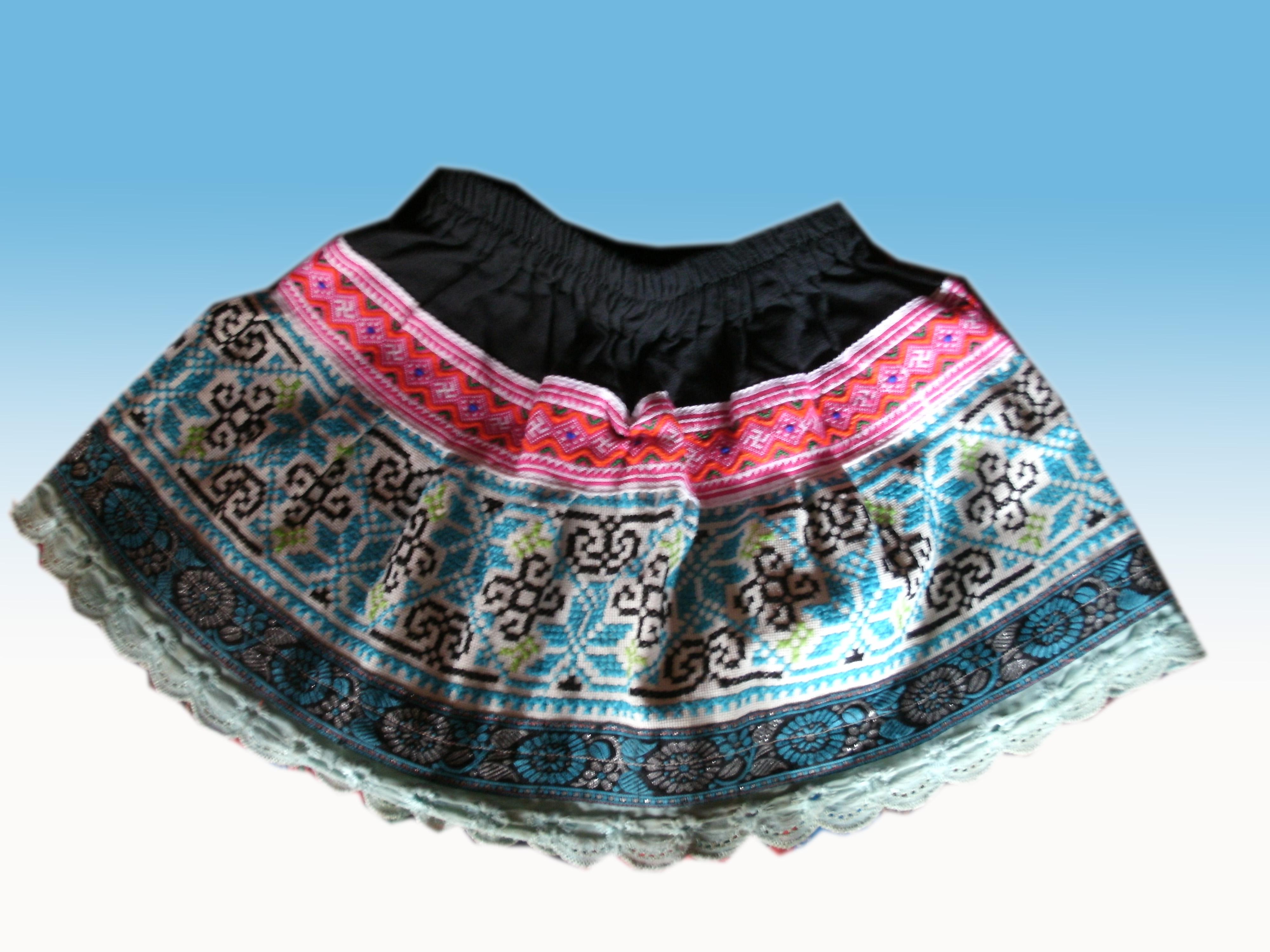 Tribal Girl skirt-23