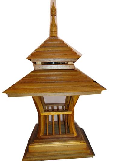 Teak Lamps 140102