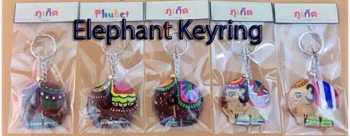 Elephant Shape Keyring-9