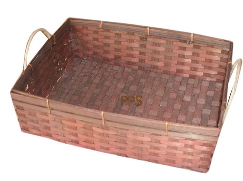 Square Bamboo basket PS-BB-19