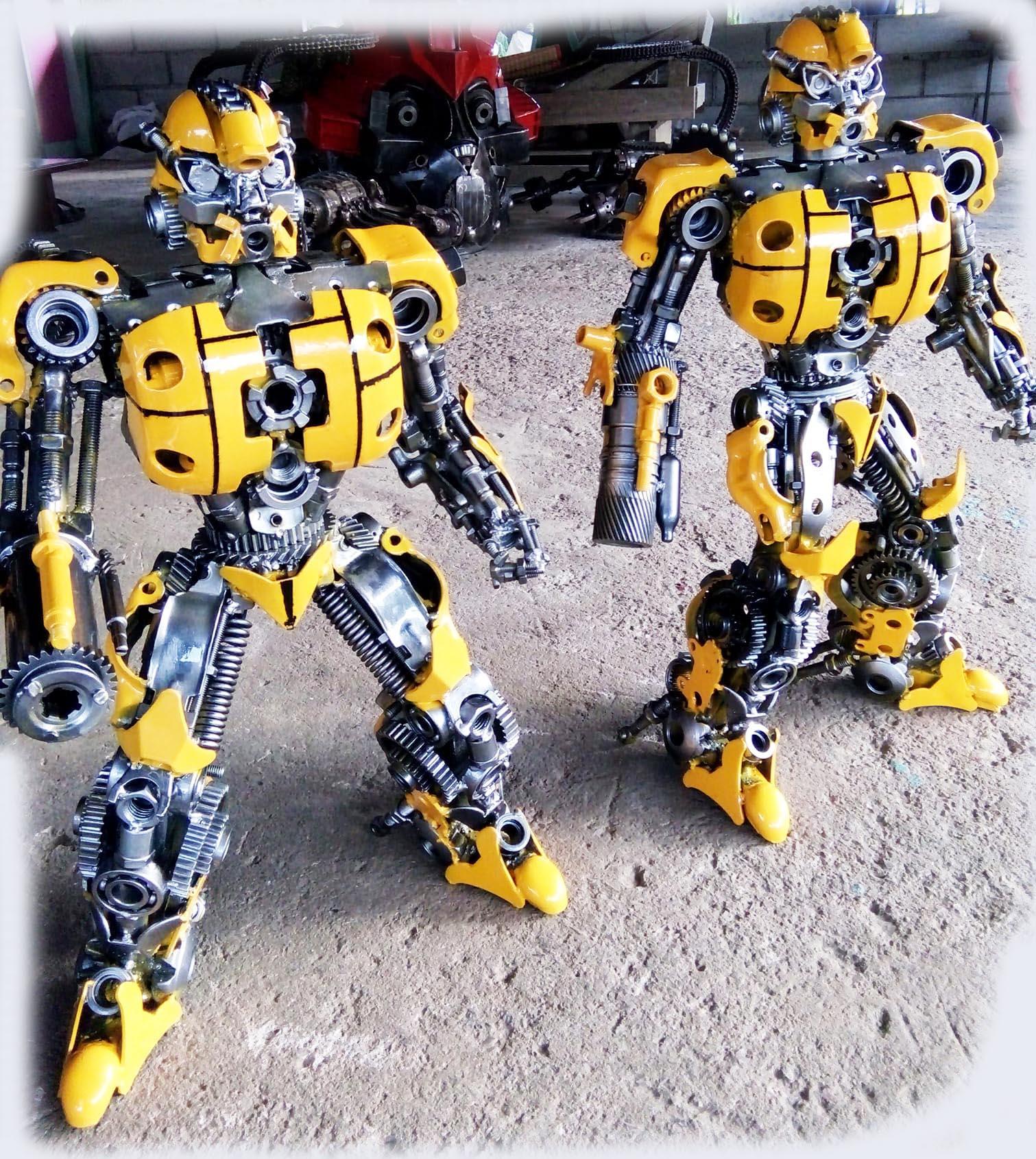 Recycle Metal Robot-42