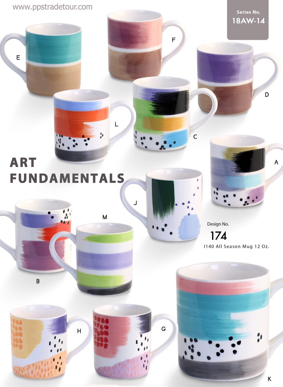 Artfundamentals-Ceramic Mug 16 Oz.