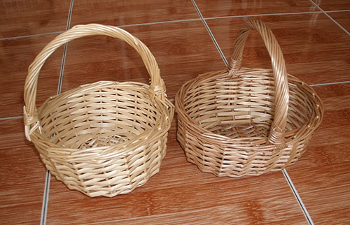Rattan Basket 1900-1