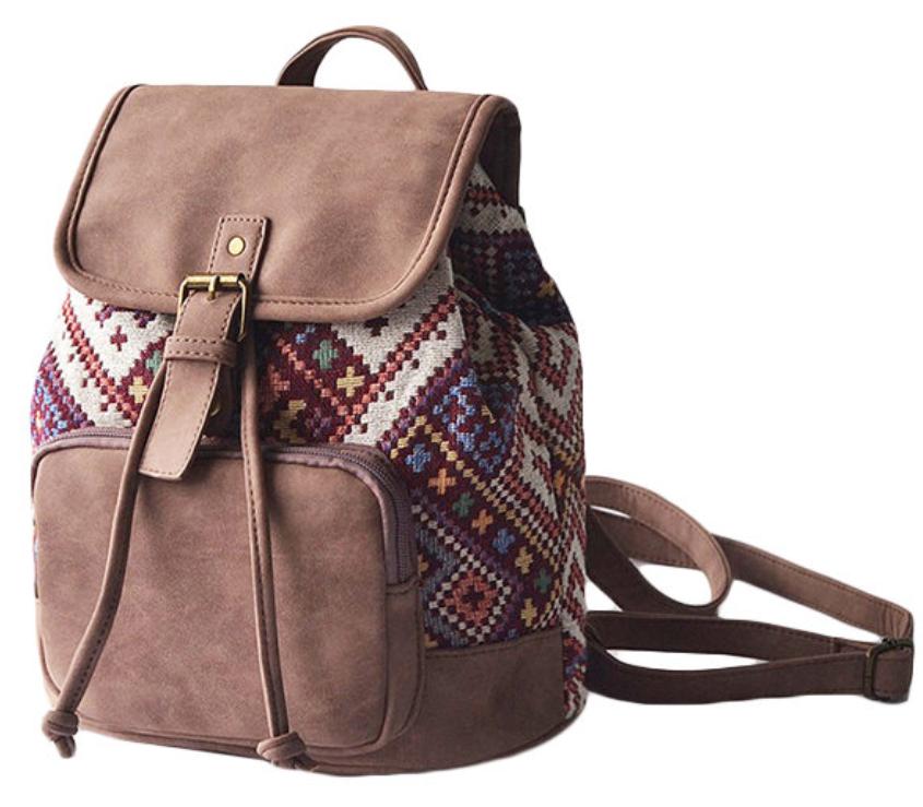 Tribal Pu Backpack-3