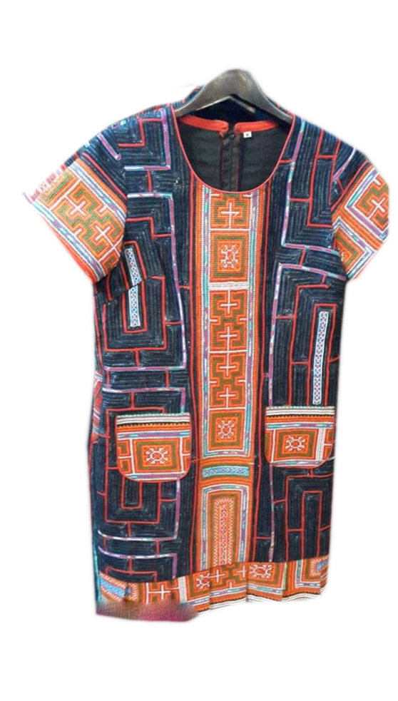 Tribal Patter Dress-02
