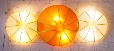 Silk Lamp donut triple