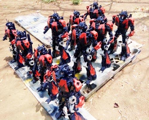 Recycle Metal Robot-41