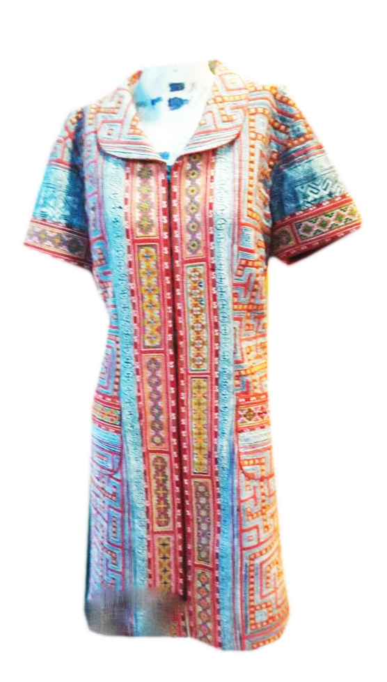 Tribal Patter Dress-06