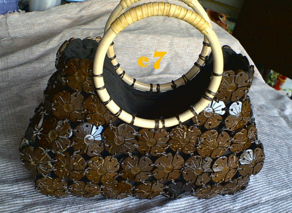 Coconut Shell bag-114