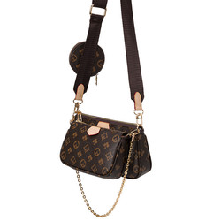 New Arrival 3 in 1 ladies hand bags purses sets brands womens shoulder handbag luxury handbags for w