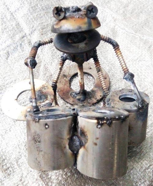 Recycle Metal Robot-30