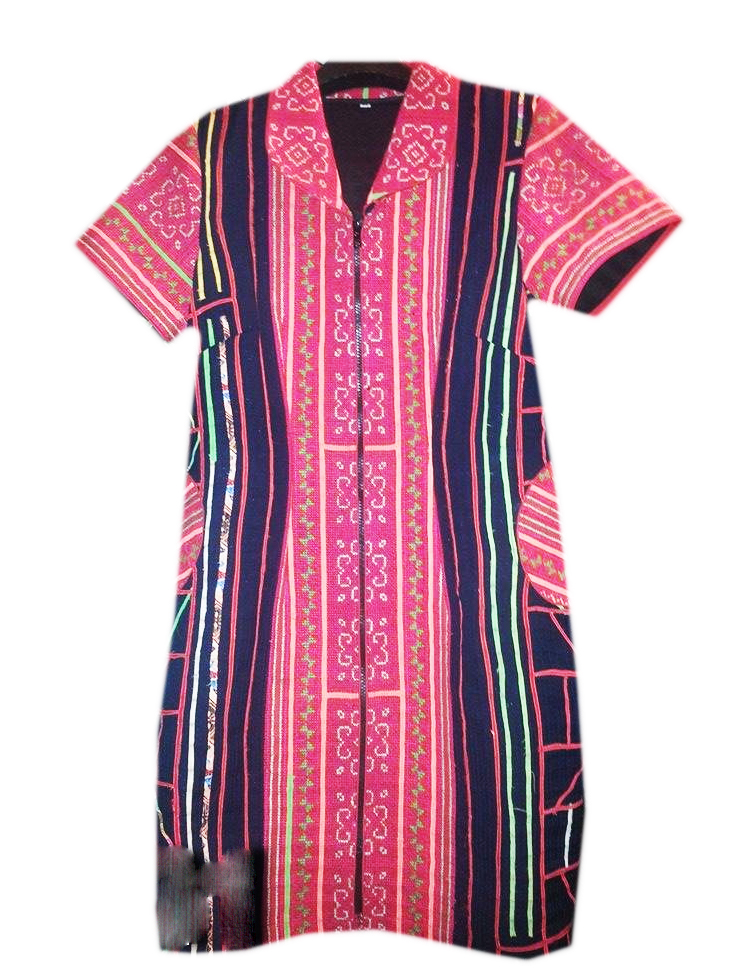 Tribal Patter Dress-07