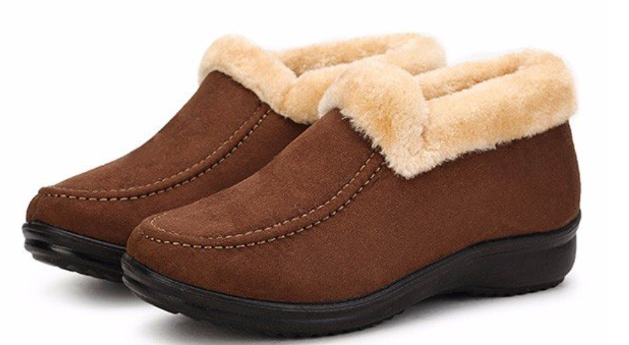Large Size Women Keep Warm Suede Cot