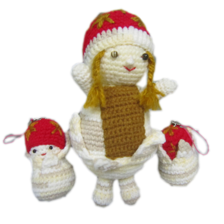 Crochet Doll Keyring-IMG_3566