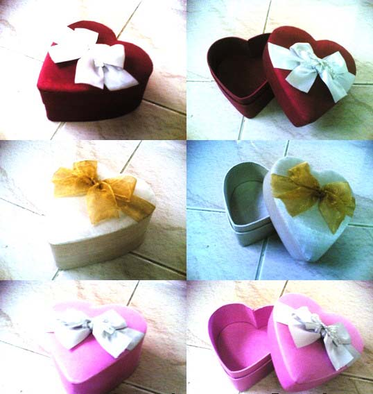Gift heart shape box PPS-HB14