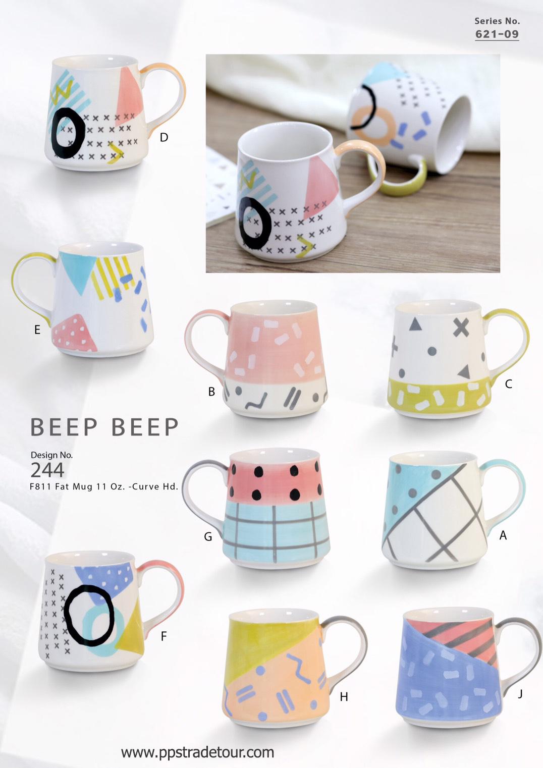 Beep Beep-Ceramic Mug 11Oz.