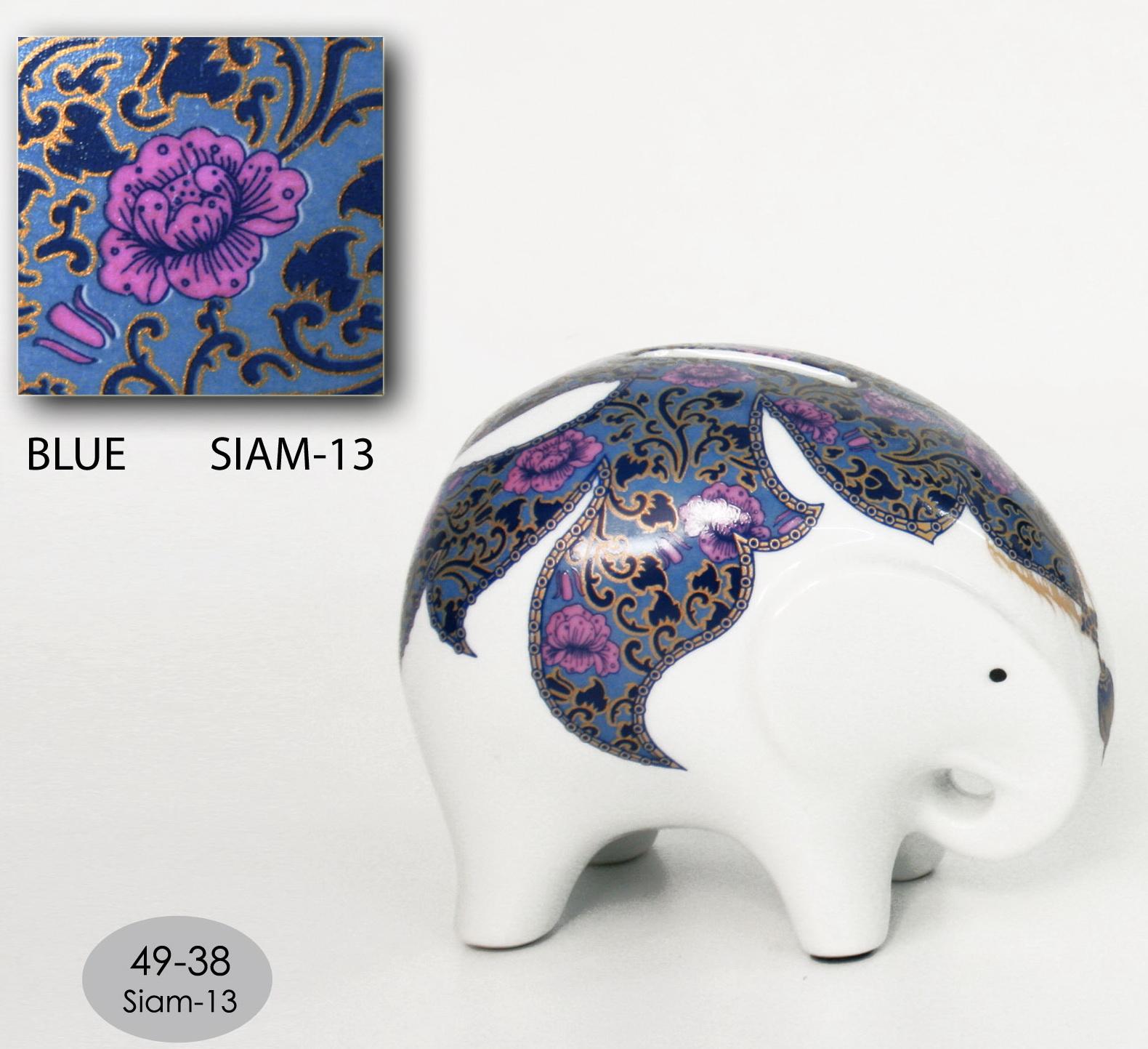 Elephant Ceramic Vase-20