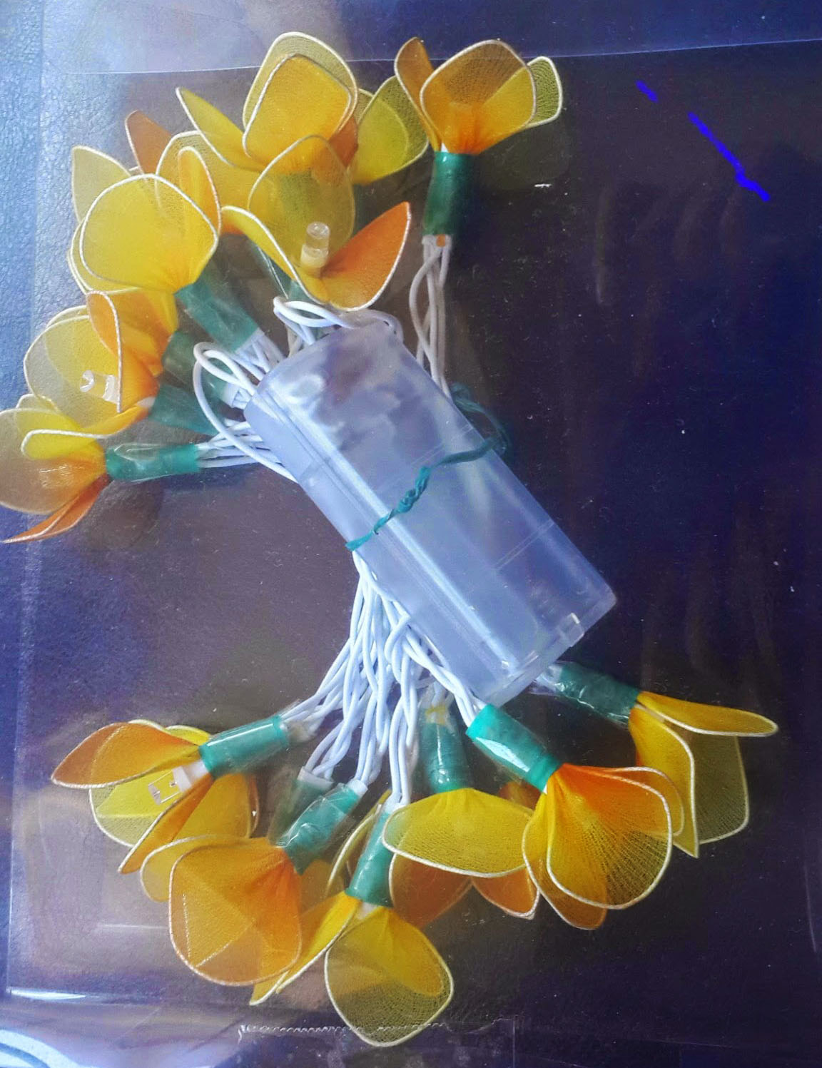 flower lights with battery